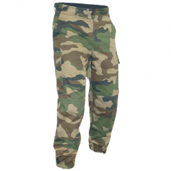 Pantalon F2 Camouflage de face en situation
