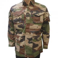Chemise guerilla camouflage CE de face