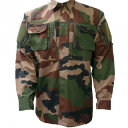 Chemise Guerilla Ripstop Camouflage OPEX de face