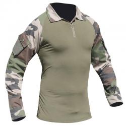 Chemise de Combat Camouflage Type UBAS de face