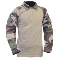 Chemise de Combat Camouflage Coton OPEX de face