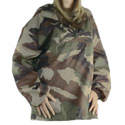 Coupe Vent Camouflage Rip-Stop de face en situation
