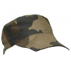 Casquette militaire F1 camouflage de face