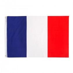 Drapeau Français avec 2 oeillets de fixation