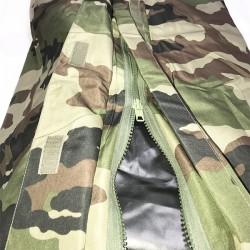 Système d'ouverture du sur sac de couchage sarcophage camouflage en condition haut