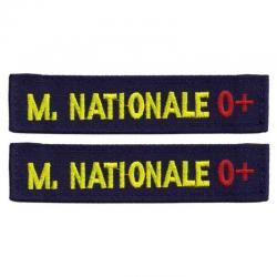 Bande Patro Marine Nationale Fil Jaune + Rhésus