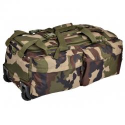 Sac opérationnel à roulettes 110 L camouflage CE de face
