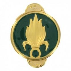 Insigne de collet Légion or