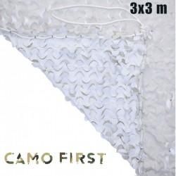 Filet de camouflage Camo First renforcé Blanc (3 x 3 m)
