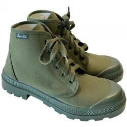 Chaussures Brousse Ayoka Kaki de Profil