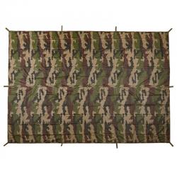 Bâche Terrain 2 x 3 m Ultra-Light Camouflage Déplié