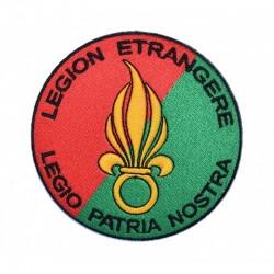 Ecusson brodé thermocollant Légion Etrangère