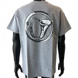 Insigne Chasseur en application par flocage au dos du t-shirt