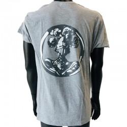 Insigne ABC Cavalerie en application par flocage au dos du t-shirt