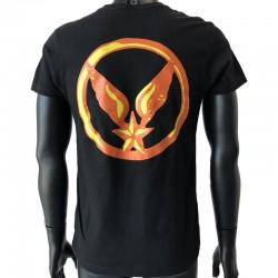 Insigne ALAT en application par flocage au dos du t-shirt