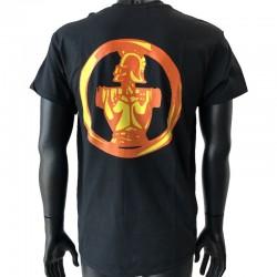 Insigne Génie en application par flocage au dos du t-shirt