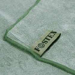 Serviette microfibre vert armée