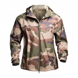 Veste Zip frontal double curseur camouflage