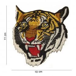 Écusson Brodé Tête de Tigre
