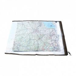 Etui carte vinyle transparent pour protéger votre carte topo