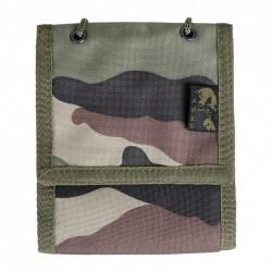 Portefeuille camouflage à fermeture velcro