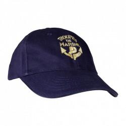Casquette brodée Troupe de Marine