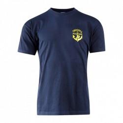 Tee-shirt bleu marine 100% coton