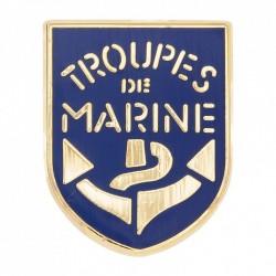 Insigne troupe de marine à accrocher sur un sac, un vêtement