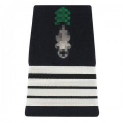 Paire de fourreaux d'épaule réglementaires de Commandant dans l'Armée de Terre Française