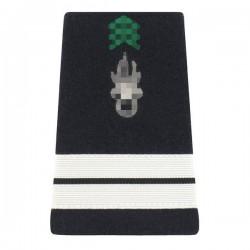 Fourreaux d'épaule réglementaires dans l'Armée de Terre de Lieutenant