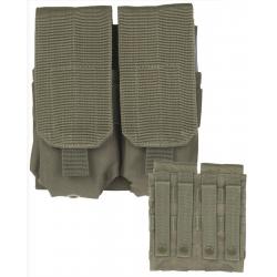 Double Porte Chargeur M4/M16 Vert Armée