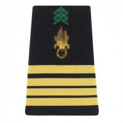 Fourreaux d'épaule réglementaires de Commandant dans l'Armée de Terre Française
