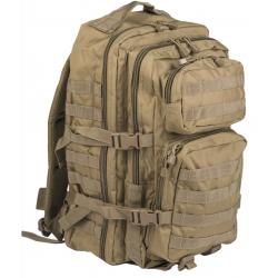 Sac à Dos US Assault 36L Coyote de face