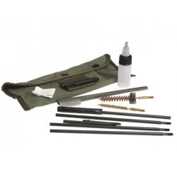 Kit de Nettoyage Arme Cal. 5.56mm Vert Armée