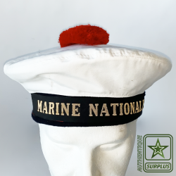 Bachis Marine Nationale de face sur tête